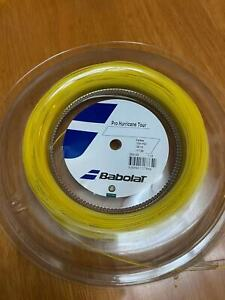 New BabolaT Pro Hurrican Tour 130/16 120M Reel Tennis string Yellow  France