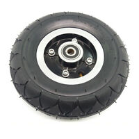 Electric Scooter Tyre Tire Inner-Tube Set Pneumatic 8 Inch W/ Wheel Hub Bearing