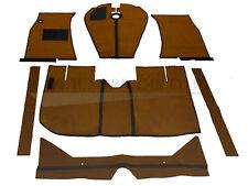 Volvo 277223 Floor mat set; brown; de luxe Amazon