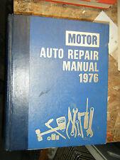 1969-1976 MOTOR'S AUTO REPAIR MANUAL CHEVY FORD DODGE AMC JAVELIN CAMARO MUSTANG