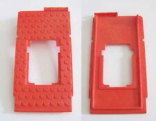 PLAYMOBIL (L3354) MOYEN-AGE - 1 Pan de Toit Rouge Ouvert Fenêtre Maison 4300