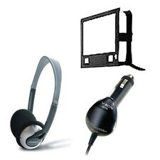"""V-Zon Voyager Portable 7"""" DVD Player Headphones car charger mounting Case B"""