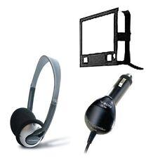 """V-zon Voyager Portátil 7 """"DVD Player auriculares Cargador de coche de montaje Funda B"""