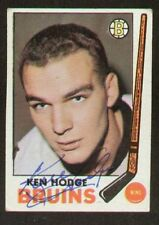 Ken Hodge signed autographed 1969-70 Topps Hockey Card