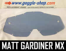 GOGGLE-SHOP REPLACEMENT LENS for 100% MOTOCROSS MX GOGGLES LIGHT SMOKE TINT