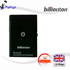 NEW Genuine Billionton BT-0009 Bluetooth Transmitter & Receiver 3.5mm MP3 Dongle
