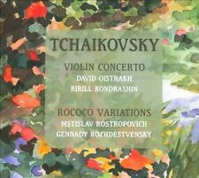 Tchaikovsky: Violin Concerto & Rococo Variations, New Music