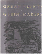 GREAT PRINTS & PRINTMAKERS~BY Herman Wechsler~Harry N. Abrams Publisher~HCDJ~VGC