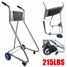 Stainless Steel Boat Outboard Motor Stand Cart Dolly With Wheel Enginee Carrier
