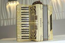 Piano accordion akkordeon HOHNER 48 bass-DEFECTIVE,FOR PARTS OR REPAIR