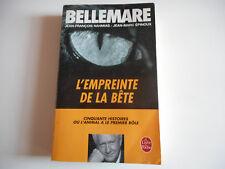 LIVRE DE POCHE - L'EMPREINTE DE LA BETE - BELLEMARE