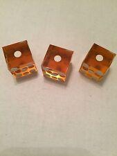 Bunco Dice 19mm Dice Amber In Color