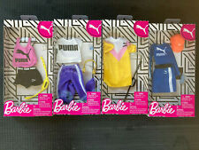 4 Barbie Fashion Packs with Accessories - Puma Theme
