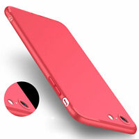Ultra Thin Dirtproof Silicone Rubber Back Cover Case Skin for iphone 6 6s 7 8 X