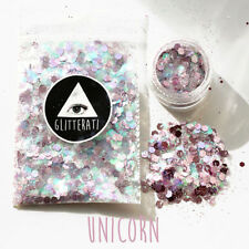 Fashion Chunky Holographic Glitter-Face Body Nail Festival Cosmetic Dance Club