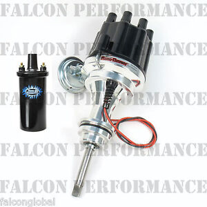 PerTronix Ignitor III/3 BILLET Flame-Thrower Distributor+Coil Dodge 413 440 426