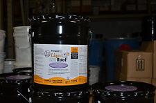 Liquid Roof EPDM RV roof coating -4 Gallon - for roof leaks, repair, sealing