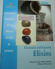 L'amicizia Gemstone & Cristallo ELISIR-Include 3 Pietre Preziose & 2 Grandi libri.