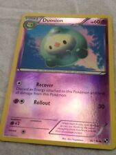 DUOSION 56/114 POKEMON TCG Card BLACK & WHITE REV HOLO Reverse Holofoil