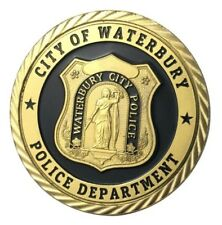 U.S. United States | City Of Waterbury Police Department | Gold Plated Coin