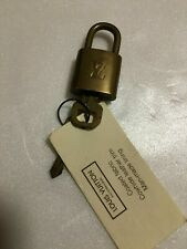 💯Authentic Vintage louis vuitton lock and key #305