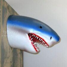 SHARK HAI KOPF 30 cm HAIFISCH Deko Tier Figur zum Aufhängen MEERESTIERE