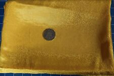 Remnant Polyester Fabric 1.50mts x 112cm - Yellow - R218
