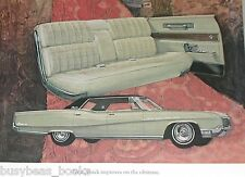 1967 BUICK ELECTRA advertisement page, Buick Electra 225, 4-door hardtop
