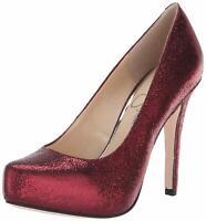Jessica Simpson Womens Parisah Pointed Toe Classic Pumps, Rusted Red, Size 9.0