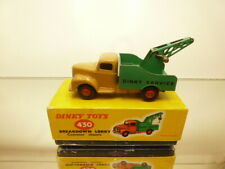DINKY TOYS 430 BREAKDOWN LORRY COMMER CHASSIS - BROWN 1:43? - GOOD COND IN BOX