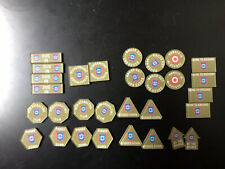 Flames Of War British Guards Armored Tokens