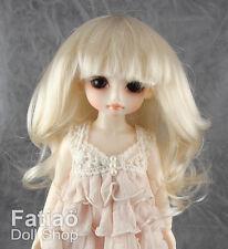 """Fatiao - Blonde Dolls Wig Dollfie Yo-SD 1/6 BJD 6-7"""" size"""