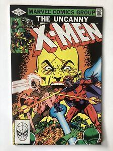 Uncanny X-Men #161- Marvel 1982- Claremont Cockrum Origin Of Magneto- VF