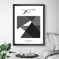 Abstract Poster Prints Wall Art Minimalistic Home Decor FRAMED & UNFRAMED #20