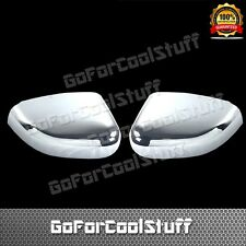 FOR 2010-2015 FORD TAURUS TOP HALF MIRROR Chrome Cover