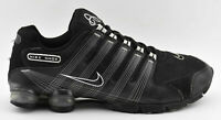 MENS NIKE AIR SHOX NZ 2.0 RUNNING SHOES BLACK WHITE BUBBLE 407155 007 SIZE 13