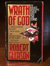 Wrath Of God Robert Gleason Paperback Novel Action Adventure Death Action Thrill
