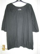 ladies black top from Yours size 26/28