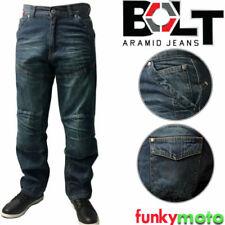 Motorradjeans-Hosen aus Baumwolle für Männer