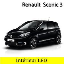 Kit 18 ampoules à LED pour l'éclairage intérieur Blanc Renault Grand Scenic 3