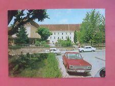 Alte Postkarte 1974 von Varaždinske Toplice mit altem Auto jugoslawische Marke