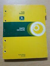 John Deere 7520 Tractor Parts Catalog