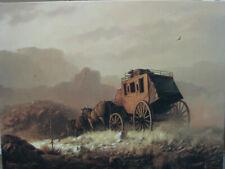 "Dalhart Windberg "" Coach To El Paso"" 18 x 24 Canvas print"