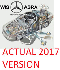 NEW 2017 Mercedes WIS ASRA EPC  - Workshop repair *INCLUDES MODELS UPTO 2017*