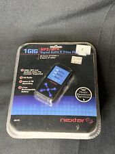Nextar 1Gb Mp3 Audio and Video Player Usb 2.0 Rechargeable Battery New