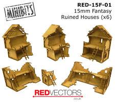 RED-15F-01 - 15mm Wargames - Fantasy Ruins x 6