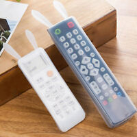 Rabbit Ear TV Remote Control Silicon Gel Protective Case Cover Waterproof XSZ