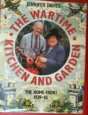 The Wartime Kitchen and Garden by Davies, Jennifer Hardback with dustjacket