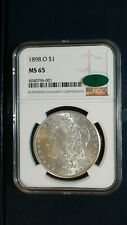 1898 O Morgan Silver Dollar NGC MS65 CAC ACCREDITED $1 Coin PRICE TO SELL NOW!