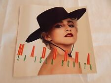 "MADONNA ""La Isla Bonita "" PICTURE SLEEVE! NEW! MINT! ABSOLUTELY PERFECT!!"